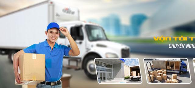 Bốc xếp hàng hóa xe tải